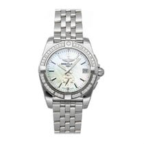 Breitling Galactic 36 Steel 36mm Mother of pearl United States of America, New York, NY