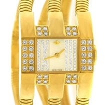 Van Cleef & Arpels Yellow gold 25mm Quartz pre-owned United States of America, New York, NY