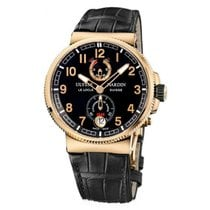 Ulysse Nardin Marine Chronometer Manufacture Rose gold 43mm Black United States of America, New York, NY