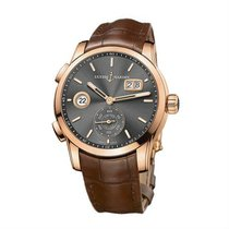 Ulysse Nardin Dual Time Rose gold 42mm Grey United States of America, New York, NY