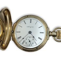 Elgin Yellow gold Automatic 19027 pre-owned United States of America, New York, NY