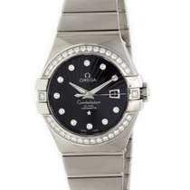 Omega Constellation Ladies White gold 31mm Black United States of America, New York, NY