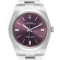 Rolex Oyster Perpetual 39 Steel 39mm Purple No numerals United Kingdom, London