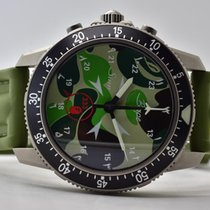 Sinn Titanium Automatic Green Arabic numerals 43mm pre-owned