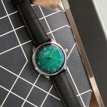 Glashütte Original Sixties Acier 39mm Vert Sans chiffres