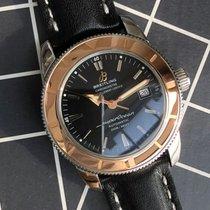 Breitling Superocean Héritage 42 Acero y oro 42mm Negro Sin cifras