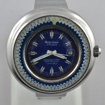 Philip Watch Caribe Steel 50mm Blue