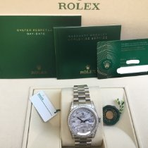 Rolex Day-Date 36 White gold Grey United States of America, California, Costa Mesa