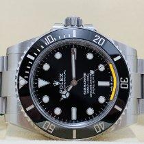 Rolex Submariner (No Date) Сталь 3235mm Черный