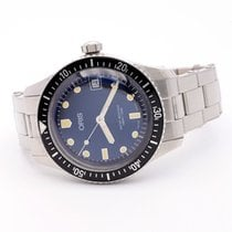 Oris Divers Sixty Five Steel 36mm Blue