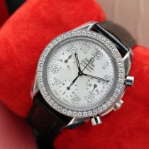 Omega Speedmaster Ladies Chronograph Acero Madreperla Arábigos