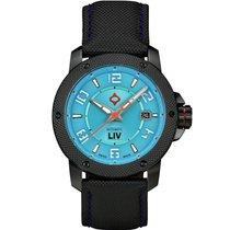Liv Watches neu 42mm Stahl Saphirglas