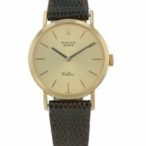 Rolex Cellini pre-owned 26mm Leather