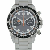 Tudor Heritage Chrono Silver 42mm Black United States of America, Florida, Sarasota