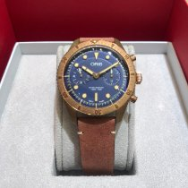 Oris Carl Brashear new 2018 Automatic Chronograph Watch with original box and original papers 01 771 7744 3185-Set LS