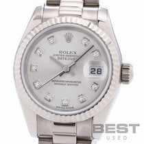 Rolex Lady-Datejust White gold 26mm Silver