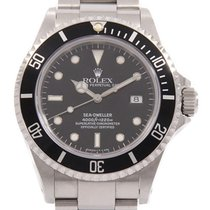 Rolex Automatic Black 40mm pre-owned Sea-Dweller 4000