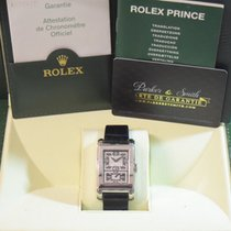 Rolex Cellini Prince White gold 28mm Black Arabic numerals