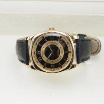 Rolex Cellini Danaos Geelgoud 38mm Zwart Geen cijfers