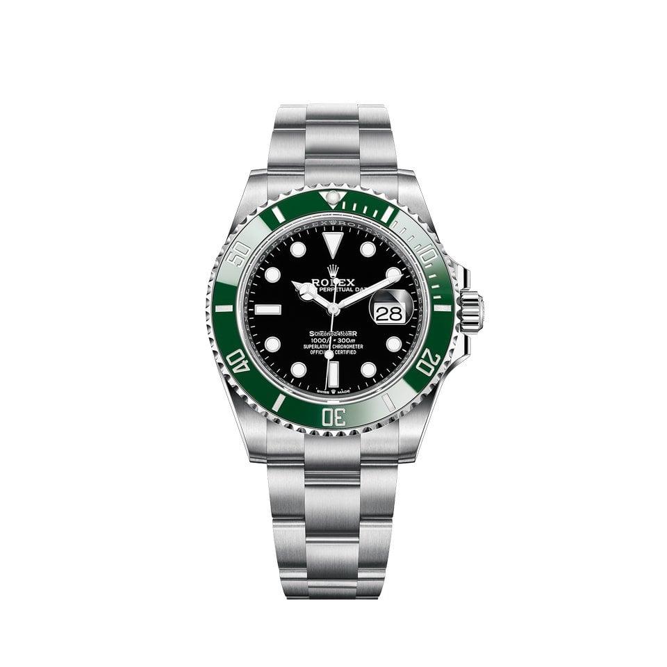 Rolex Submariner Date 126610lv Starbucks 2021 nouveau