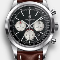 Breitling Transocean Chronograph Steel 43mm Black No numerals United States of America, New Jersey, Princeton