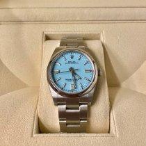 Rolex Oyster Perpetual 36 Stahl 36mm Blau Keine Ziffern Deutschland, Bruchsal