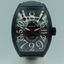 Franck Muller Crazy Hours Steel 44mm Black United States of America, California, Fresno
