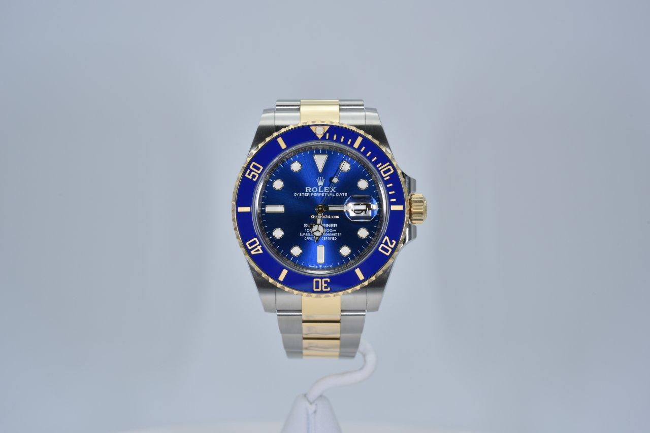 Rolex Submariner Date 126613lb 2021 nouveau