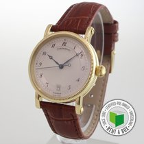 Chronoswiss Yellow gold Automatic Arabic numerals 34mm pre-owned Kairos