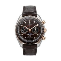 Omega Speedmaster Professional Moonwatch Moonphase Steel 44.2mm Brown No numerals United States of America, Pennsylvania, Bala Cynwyd