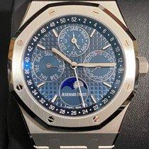 Audemars Piguet Steel Automatic Blue No numerals 41mm new Royal Oak Perpetual Calendar