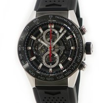 TAG Heuer Titanium Automatic pre-owned Carrera Calibre HEUER 01