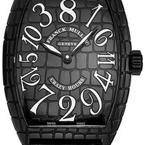 Franck Muller Crazy Hours Steel 35mm Black United States of America, New York, Brooklyn