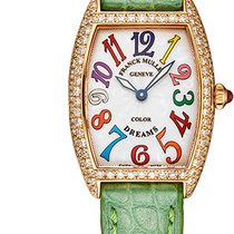 Franck Muller Color Dreams Rose gold 25mm Silver United States of America, New York, Brooklyn
