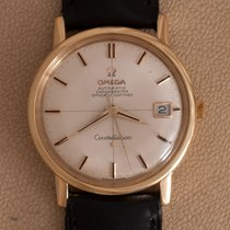 Omega Geelgoud Automatisch Zilver Geen cijfers 35mm tweedehands Constellation