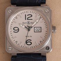 Bell & Ross BR 01-96 Grande Date Steel 46mm White Arabic numerals