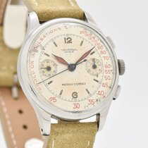 Universal Genève Compax Steel 35mm Silver Arabic numerals United States of America, California, Beverly Hills