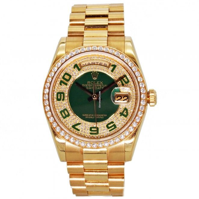 Rolex Day-Date 36 118348 2007 pre-owned