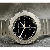 Porsche Design Diver Titan 41.7mm Schwarz
