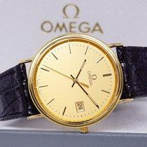 Omega 196750 MZ Nienoszony Żółte złoto 33mm Kwarcowy Polska, Klikuszowa