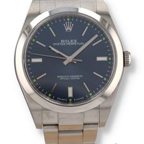 Rolex Oyster Perpetual 39 Steel 39mm Blue United States of America, New Hampshire, Nashua