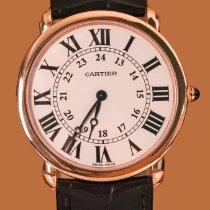 Cartier Ronde Louis Cartier Rose gold 36mm White Roman numerals