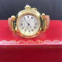 Cartier Pasha 1027 Very good Yellow gold Automatic