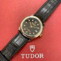 Tudor Glamour Date Acero y oro 36mm Negro