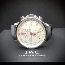IWC Portuguese Yacht Club Chronograph Çelik 45.4mm Gümüş Arap rakamları Türkiye, Istanbul