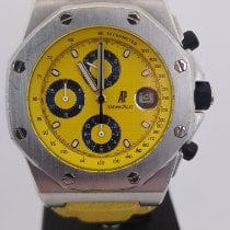 Audemars Piguet Royal Oak Offshore Chronograph folosit 42mm Galben Cronograf Data Piele