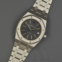 Audemars Piguet Royal Oak Jumbo usados 39mm Gris Fecha Acero