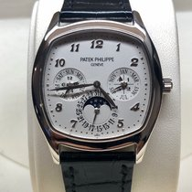 Patek Philippe 5940G-001 White gold 2014 Perpetual Calendar 37mm pre-owned