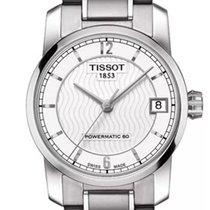 Tissot Titanium Automatic Titanium 32mm White Arabic numerals