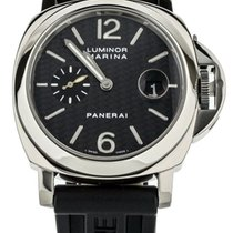 Panerai White gold Automatic 44.5mm pre-owned Luminor